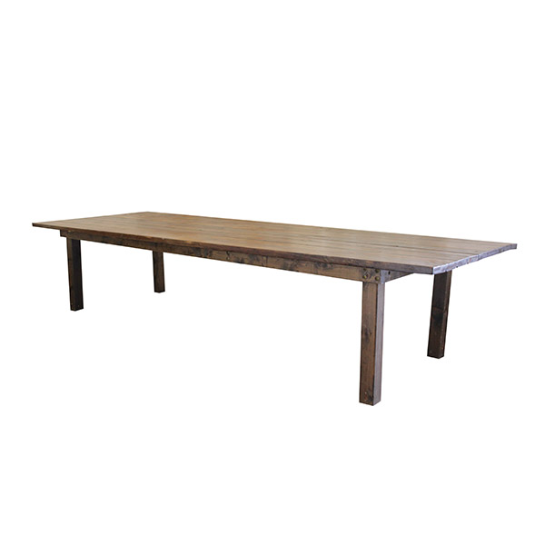 Harvest Dining Table – 12′